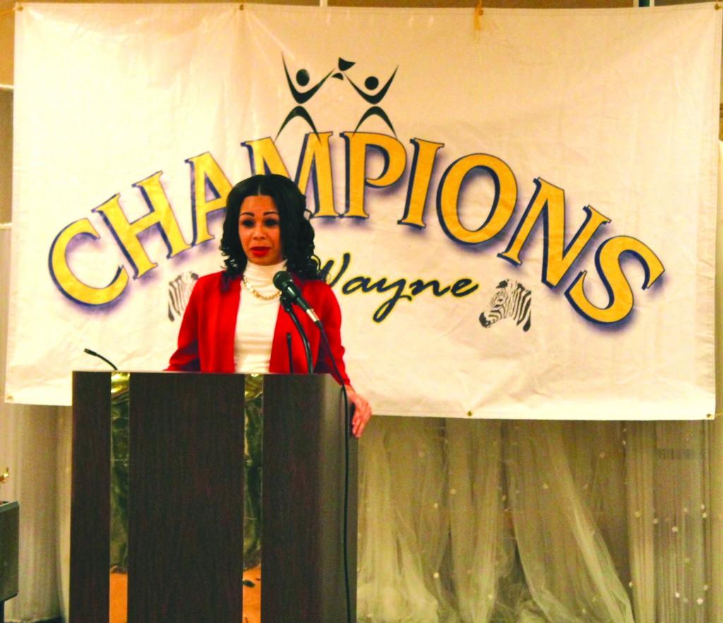 Champions Female Student Speaker