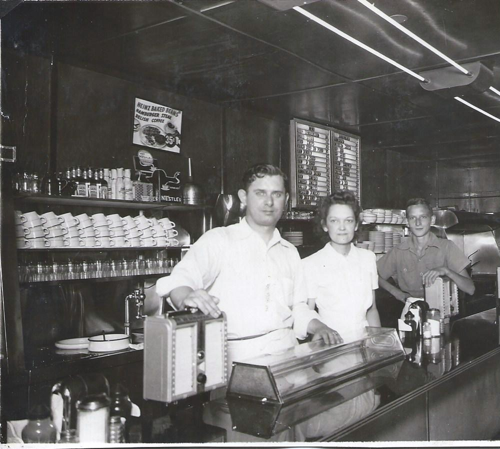Brownies Restaurant on Michigan Avenue was also a popular place to eat. Photo courtesy of The Wayne Historical Museum