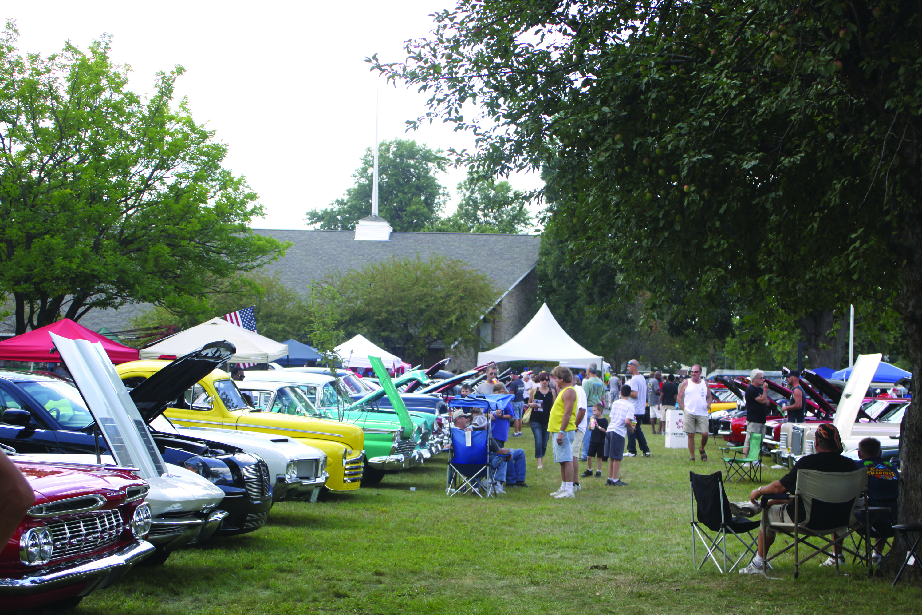 The Classic Car Show at Family Fun Fest 2013.
