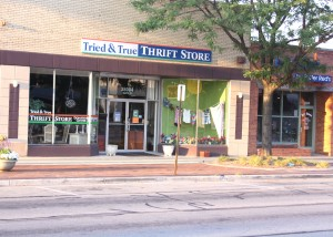 Tried and True Thrift Store offers a variety of deals and bargains from clothes and household items to movies, cds and toys.