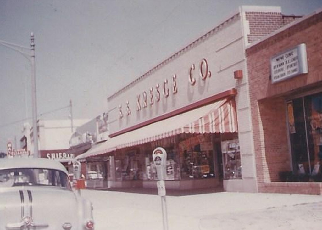 Kresge was a staple to residents of Wayne and the surrounding communities. Wayne residents enjoyed walking downtown and stopping by for a treat at the soda counter.  Photo courtesy of The Wayne Historical Museum