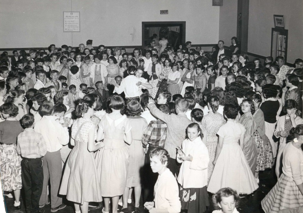 A Friday night dance from  the 1950's. Photos courtesy of The Wayne Historical Museum