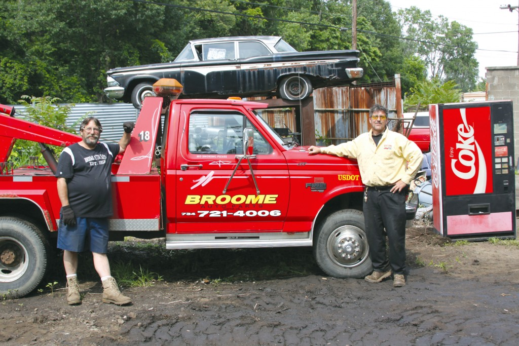 Broome Auto Parts owners Terry and Pat Morski celebrate 60 years of serving the City of Wayne. Photo by John P. Rhaesa