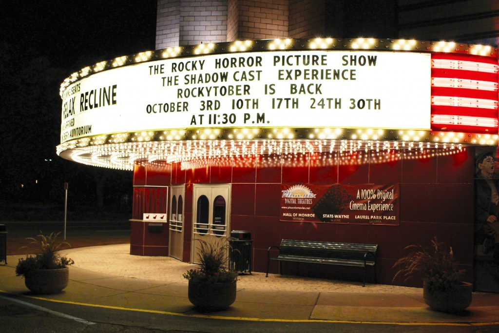 """The State Wayne will be celebrating """"Rockytober"""" by presenting the show almost every Saturday in October: 3rd, 10th, 17th, 24th and a special show on """"Devil's Night"""" October 30."""