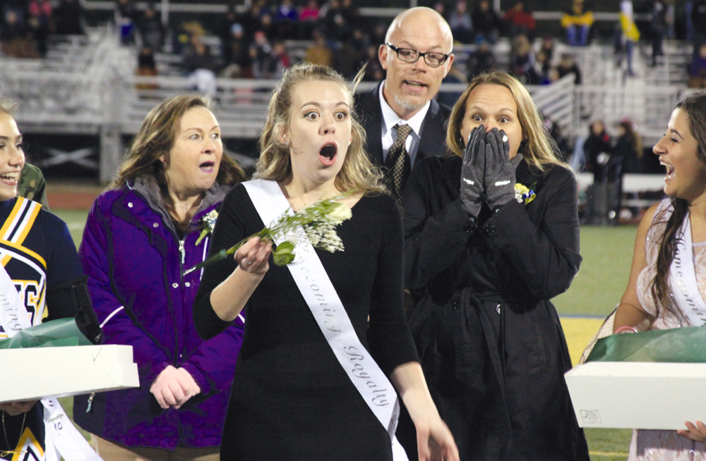 Simply the Best October 16, with her parents looking on, Samatha Best realizes she has the white rose and just became Wayne Memorial's Homecoming Queen.