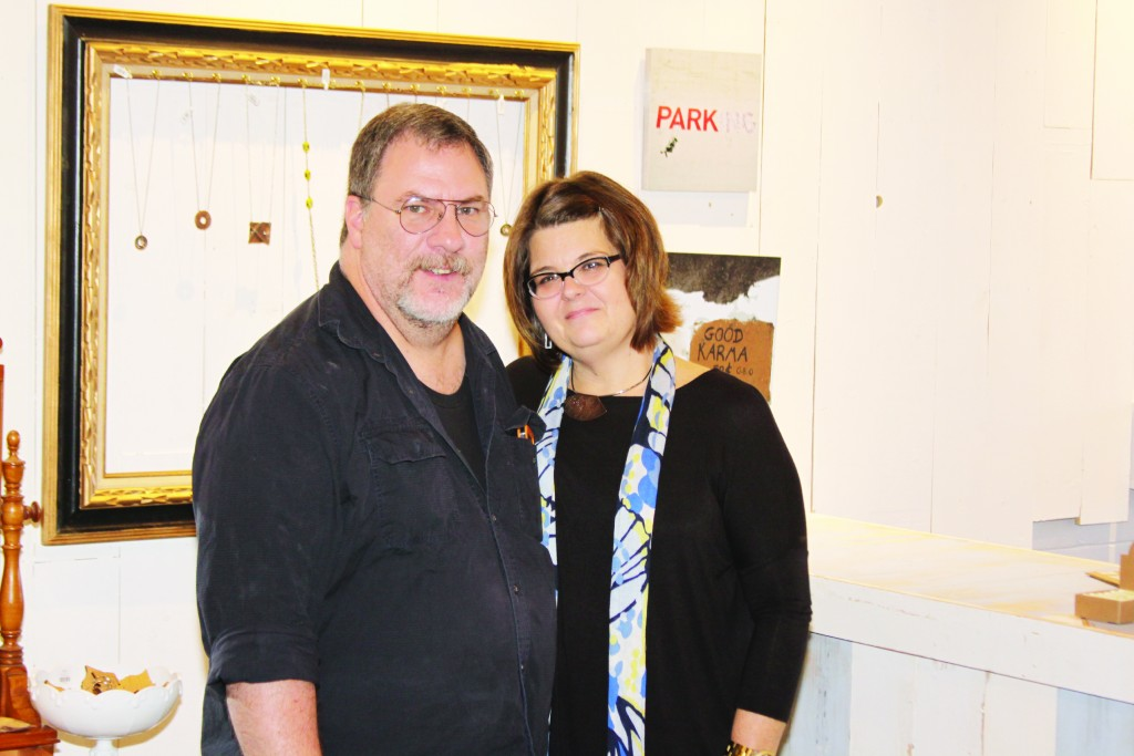 Dave Jenkins and Kim White-Jenkins will open Helium Studio in Downtown Wayne November 13th.