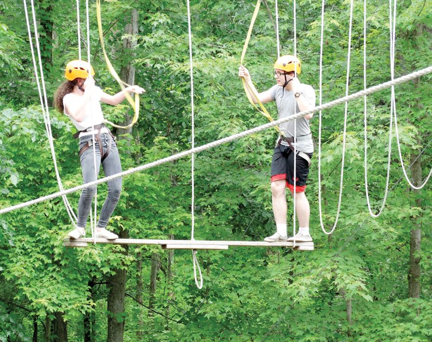 WMHS Upward Bound Ropes course