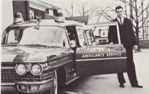 Harold Rediske Jr. use to drive an ambulance for UHT ambulance service.