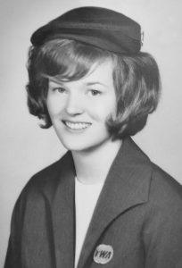 JoAnn's TWA graduation photo.