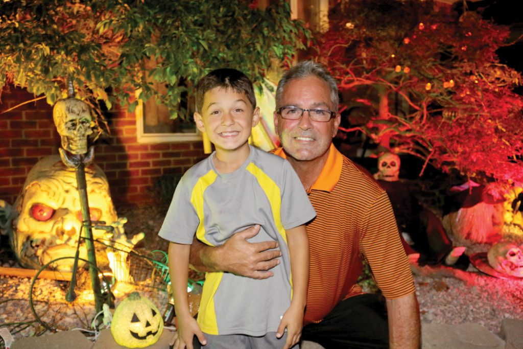 Don't miss going to see Ryan and Larry Reid's house on Gertrude Street in Wayne from 8 p.m. to 10:00 p.m. every night leading up to Halloween.